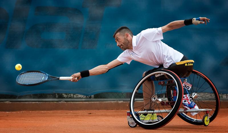 """Boscato Adriano-""""Sfide Tennis Carrozzina 20""""-2020 4° Classificato"""