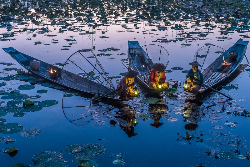 "Menesini Laura-""Pescatori birmani""-2020"